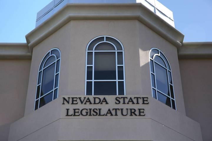 The Nevada Legislative Building in Carson City (Las Vegas Review-Journal)