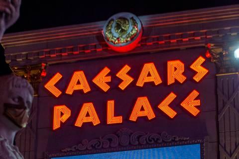 Caesars Palace (Ellen Schmidt/Las Vegas Review-Journal) @ellenschmidttt