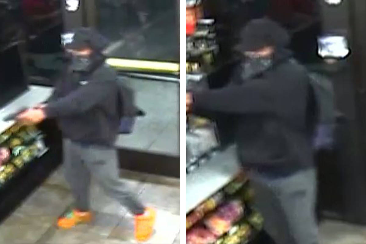 Police are seeking this man in connection with an armed robbery that occurred Sunday, Dec. 13, ...