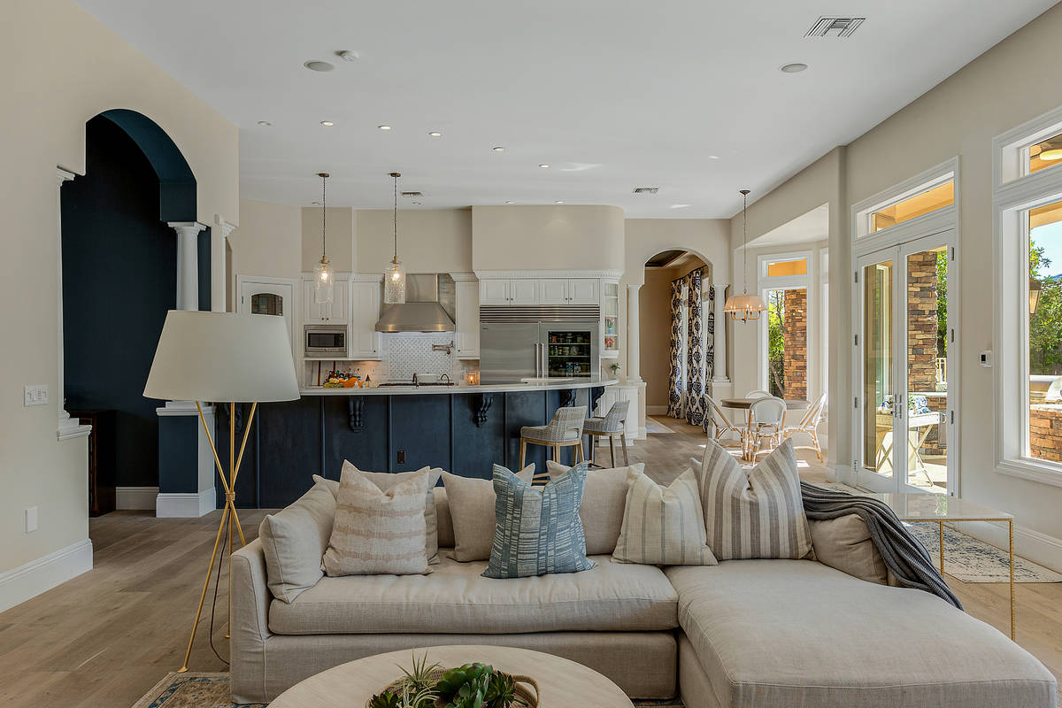 Golden Knights player Jonathan Marchessault has bought a house on Lob Wedge Court in the Summer ...