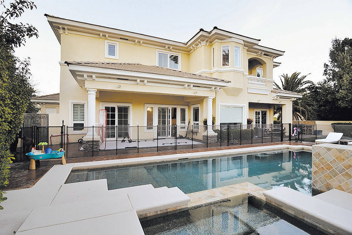 Golden Knights player Jonathan Marchessaulton has sold his house in the Summerlin area of Las V ...