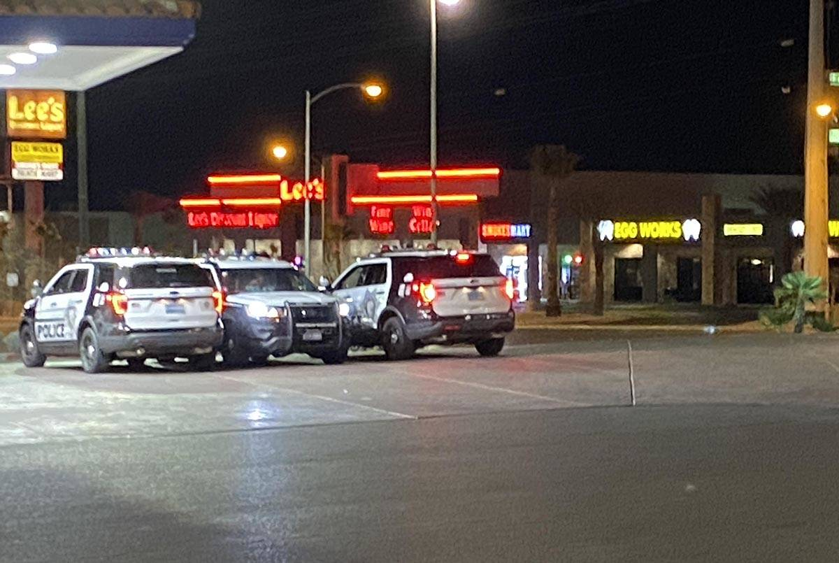 A man was carjacked while at Nevada State Bank in the 9400 block of West Flamingo Road at Fort ...