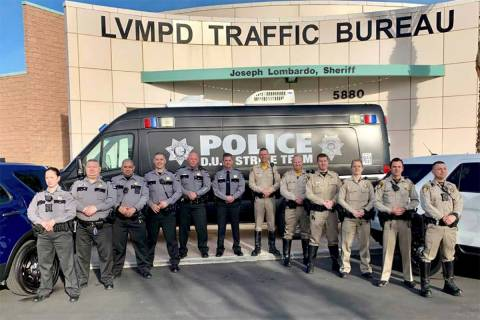 DUI Strike Team (LVMPD.com)