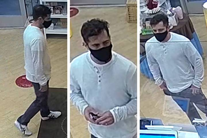 Police are seeking this man in connection to an indecent exposure allegation that occurred Tues ...
