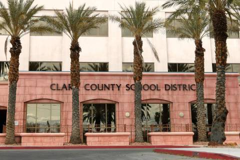 Clark County School District Administrative Center (Chitose Suzuki / Las Vegas Review-Journal) ...