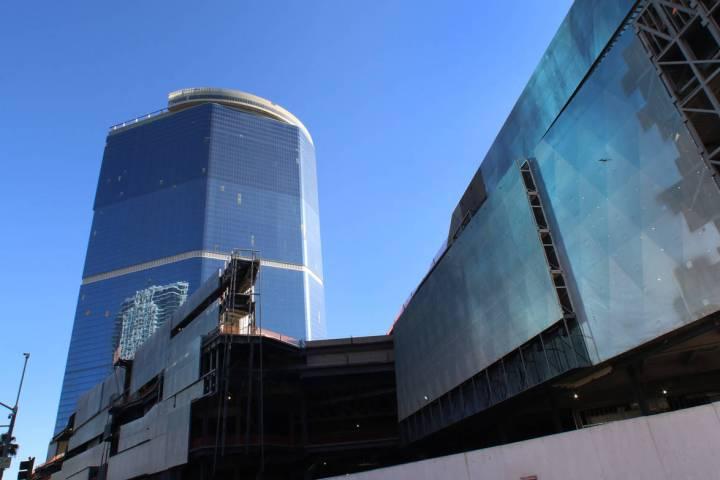 The Drew Las Vegas resort-casino photographed on Monday, Jan. 13, 2020, in Las Vegas. (Bizuayeh ...