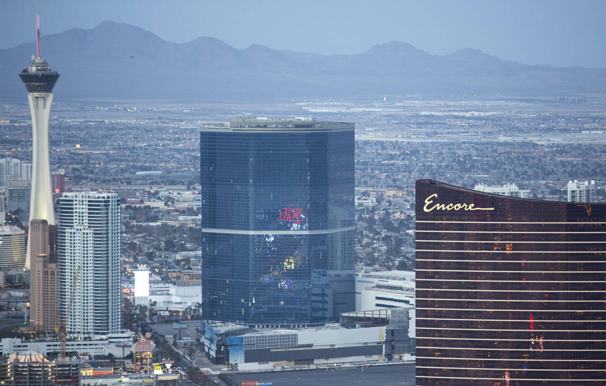 The Drew, formerly the Fontainebleau, on the Las Vegas Strip on Monday, Feb. 12, 2018. Richard ...
