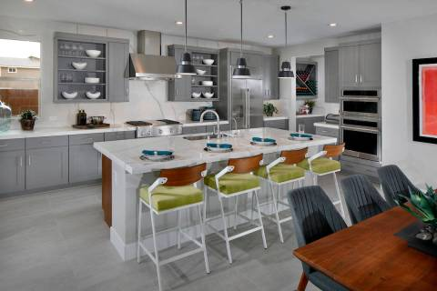Terra Luna Ridge in Summerlin is Tri Pointe Homes' newest neighborhood. The neighborhood offe ...
