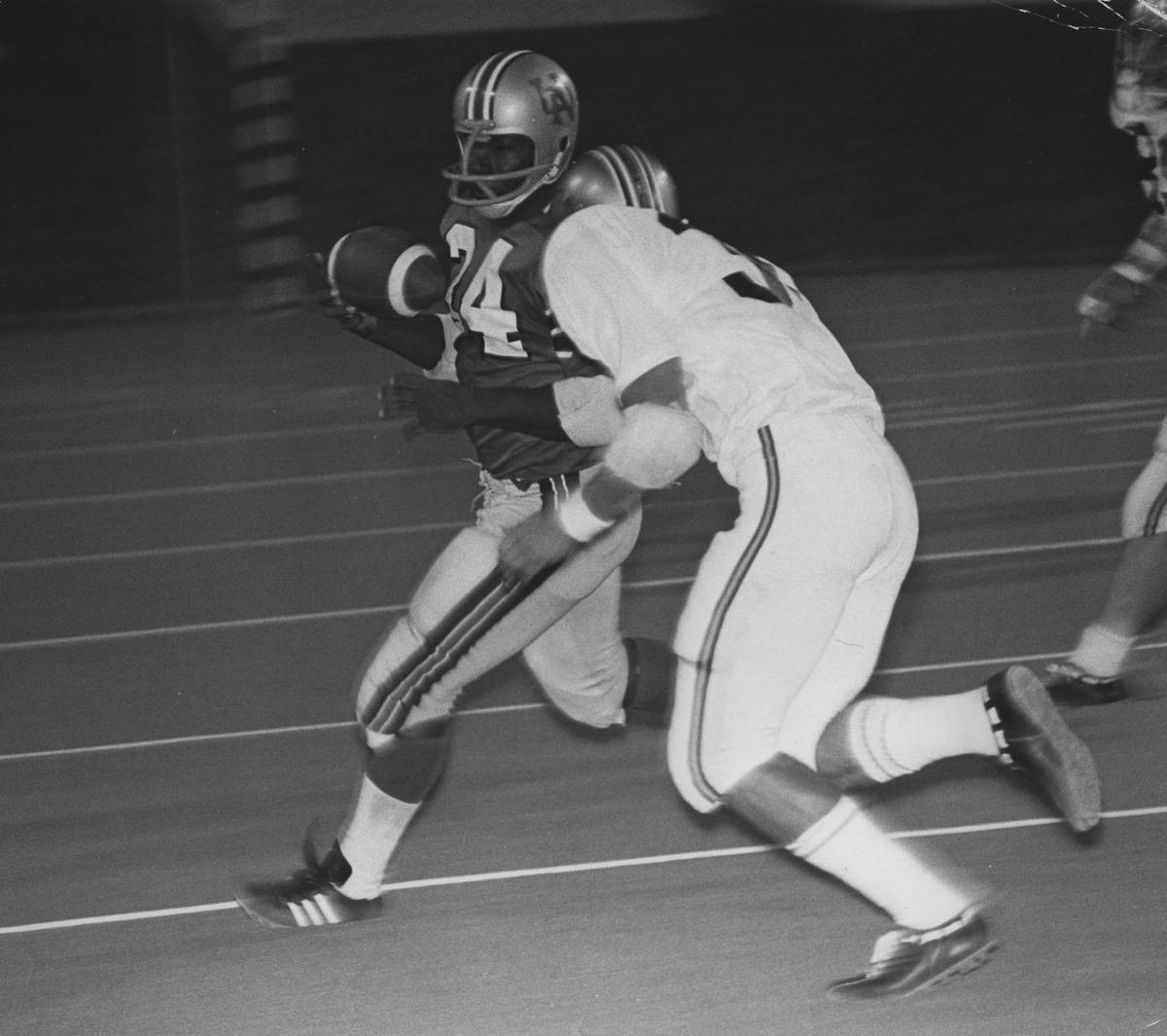 Wayne Nunnely played fullback for UNLV in 1972. Photo courtesy of UNLV athletics.