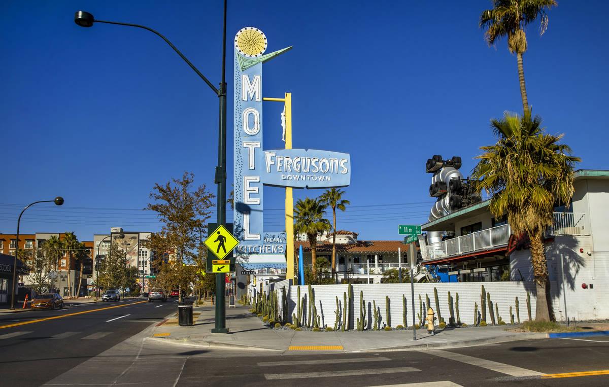 Fergusons Downtown on Tuesday, Dec. 1, 2020, in Las Vegas. (L.E. Baskow/Las Vegas Review-Journa ...