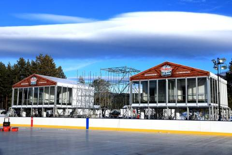 The Golden Knights face Colorado on Saturday and the Bruins and Flyers meet Sunday at Lake Taho ...