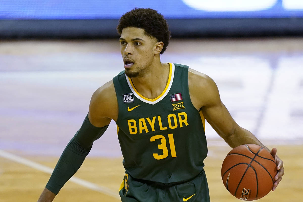 Baylor guard MaCio Teague (31) during an NCAA college basketball game against Texas, Tuesday, F ...