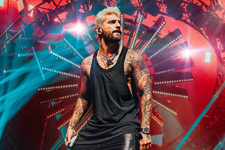 Colombian-born recording star Maluma is set to headline Michelob Ultra Arena on Sept. 21. (MGM ...