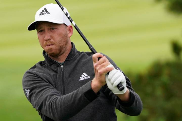 Daniel Berger on the Pebble Beach Golf Links during the final round of the AT&T Pebble Beac ...