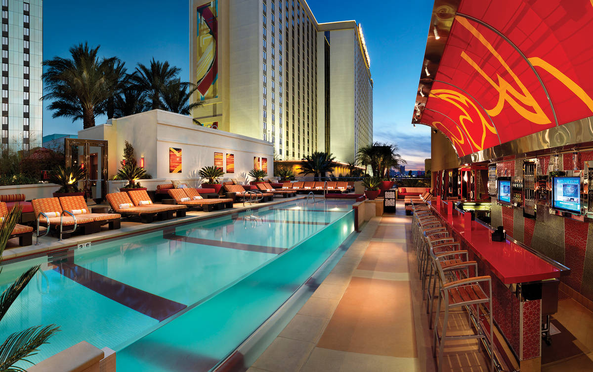 A look at The Hideout at Golden Nugget, the hotel's 21-over pool annex currently open Fridays a ...
