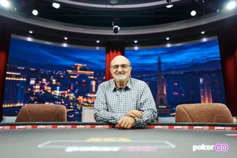 Mori Eskandani, shown in an undated file photo, is a member of the Poker Hall of Fame and the n ...