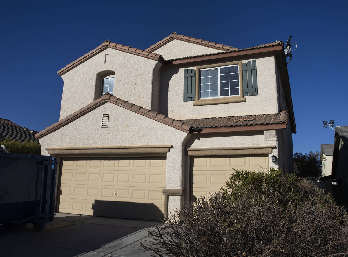 A house listed for rent by Invitation Homes at 6963 Batik Harbor Court is seen, on Friday, Feb. ...