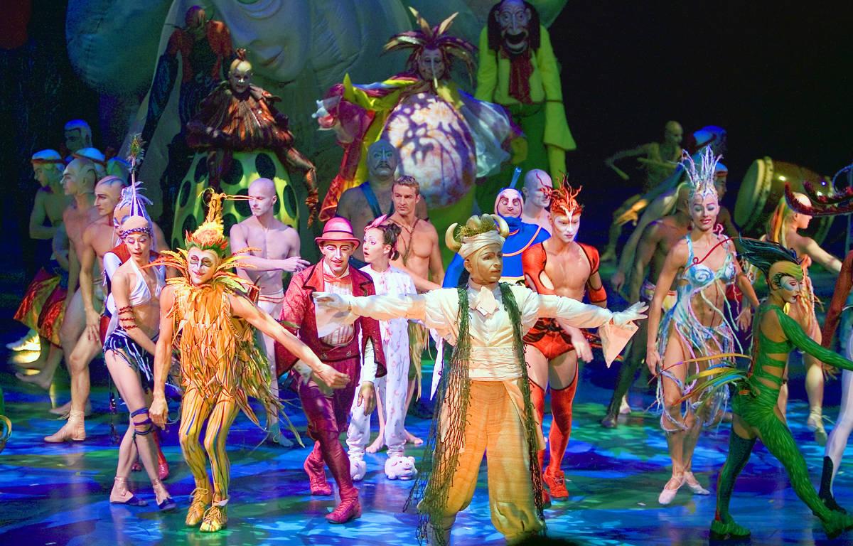 Mystere by Cirque du Soleil. (Cirque du Soleil)