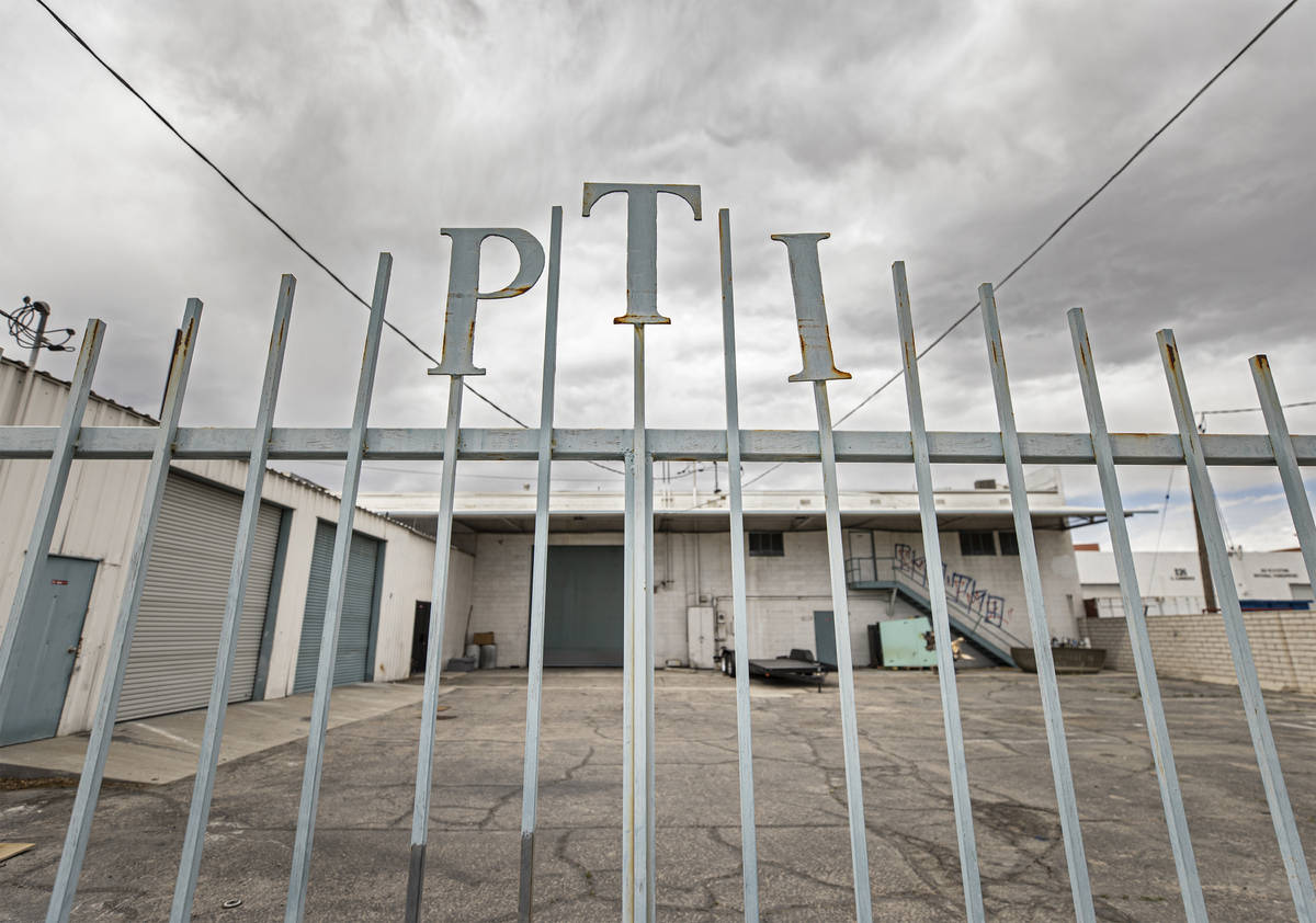 Industrial building space at 828 South Commerce St. in Downtown Las Vegas owned by Tony Hsieh ...