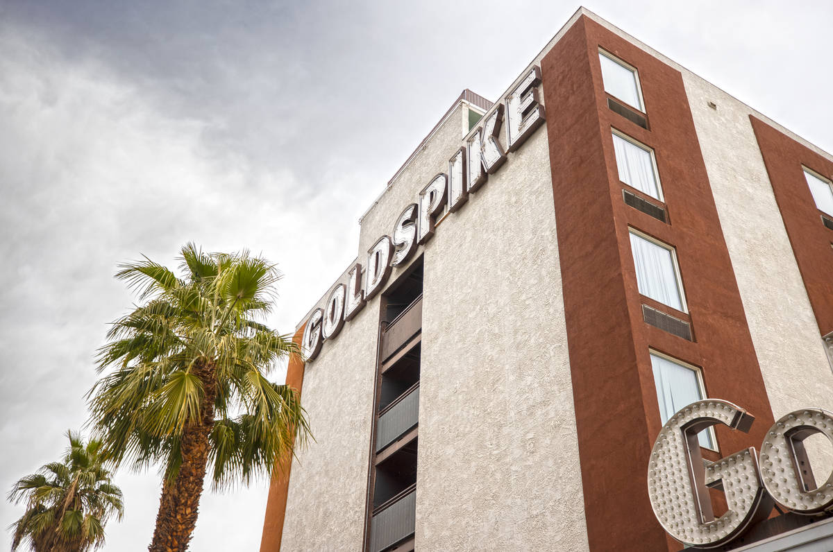 Goldspike at 217 North Las Vegas Blvd. in Downtown Las Vegas owned by Tony Hsieh photographed o ...
