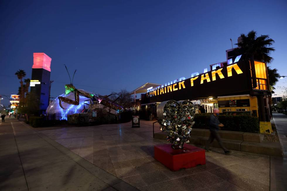 The Downtown Container Park in Las Vegas is among the properties owned by the late Tony Hsieh. ...