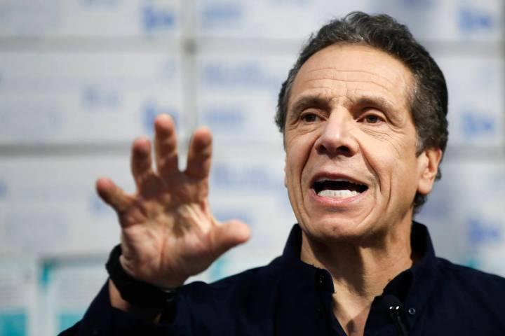 New York Gov. Andrew Cuomo. (AP Photo/John Minchillo)