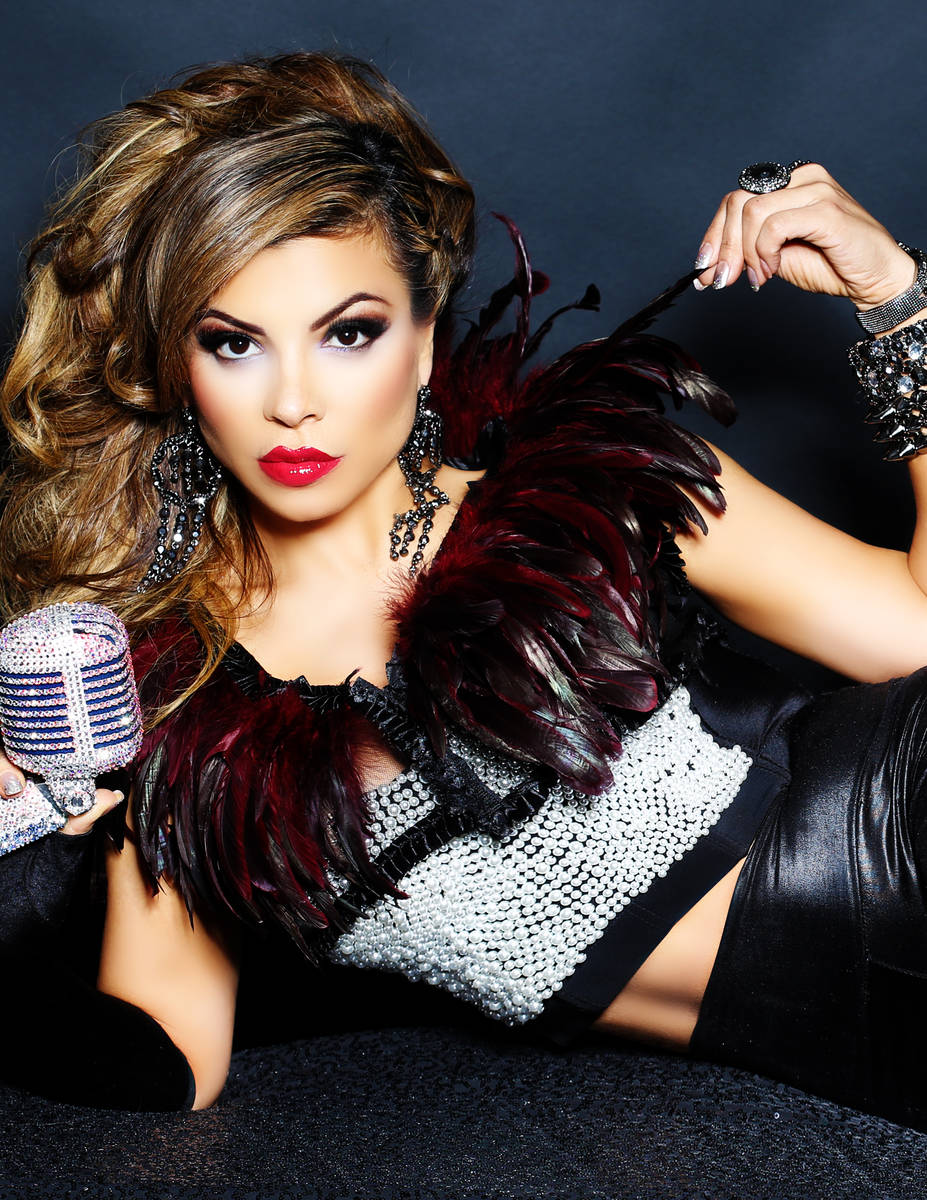 Vegas vocalist Nieve Malandra is the first resident performer at the new 1923 Prohibition Bar a ...