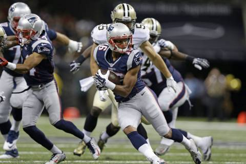 New England Patriots wide receiver Jonathan Krause (16) carries in the second half of a preseas ...