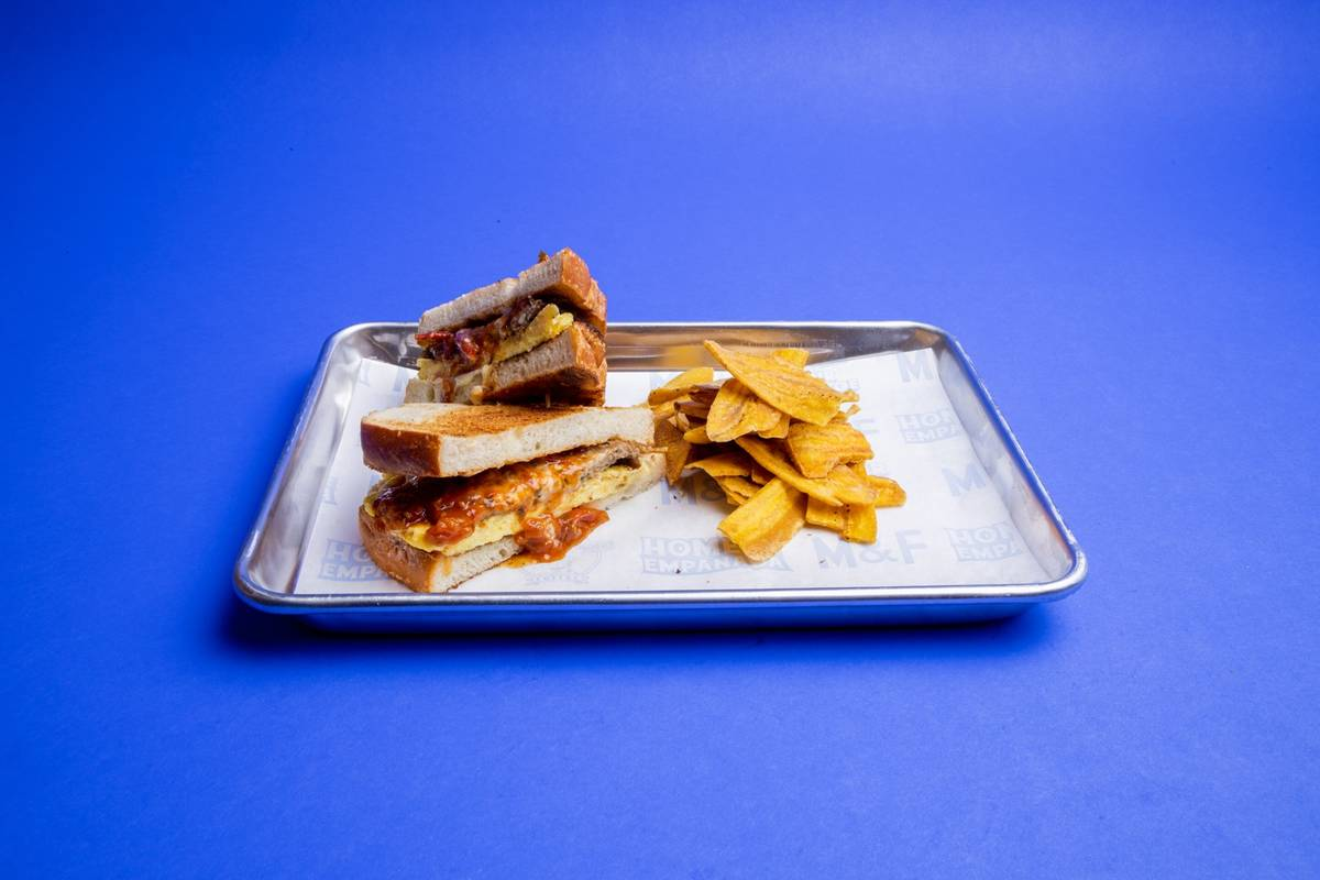 The Just Impossible Sando at Makers & Finders. (Makers & Finders)