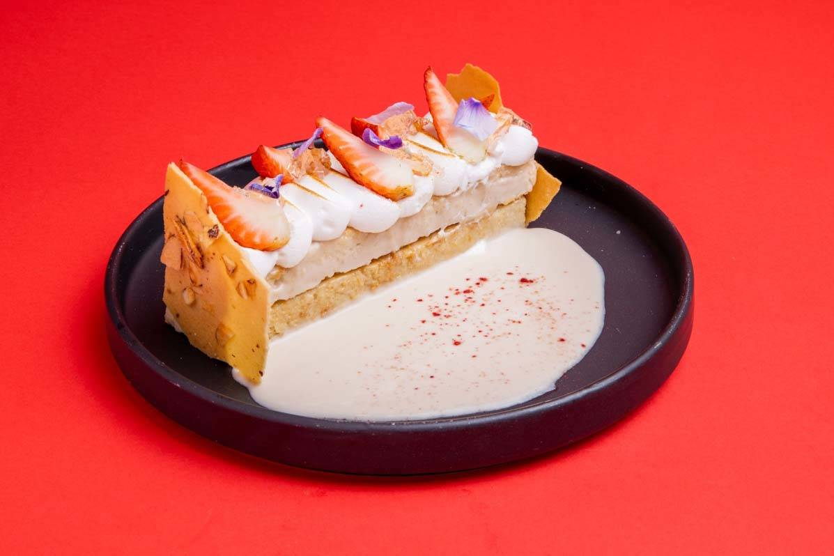 Rose' Tres Leche at Makers & Finders. (Makers & Finders)