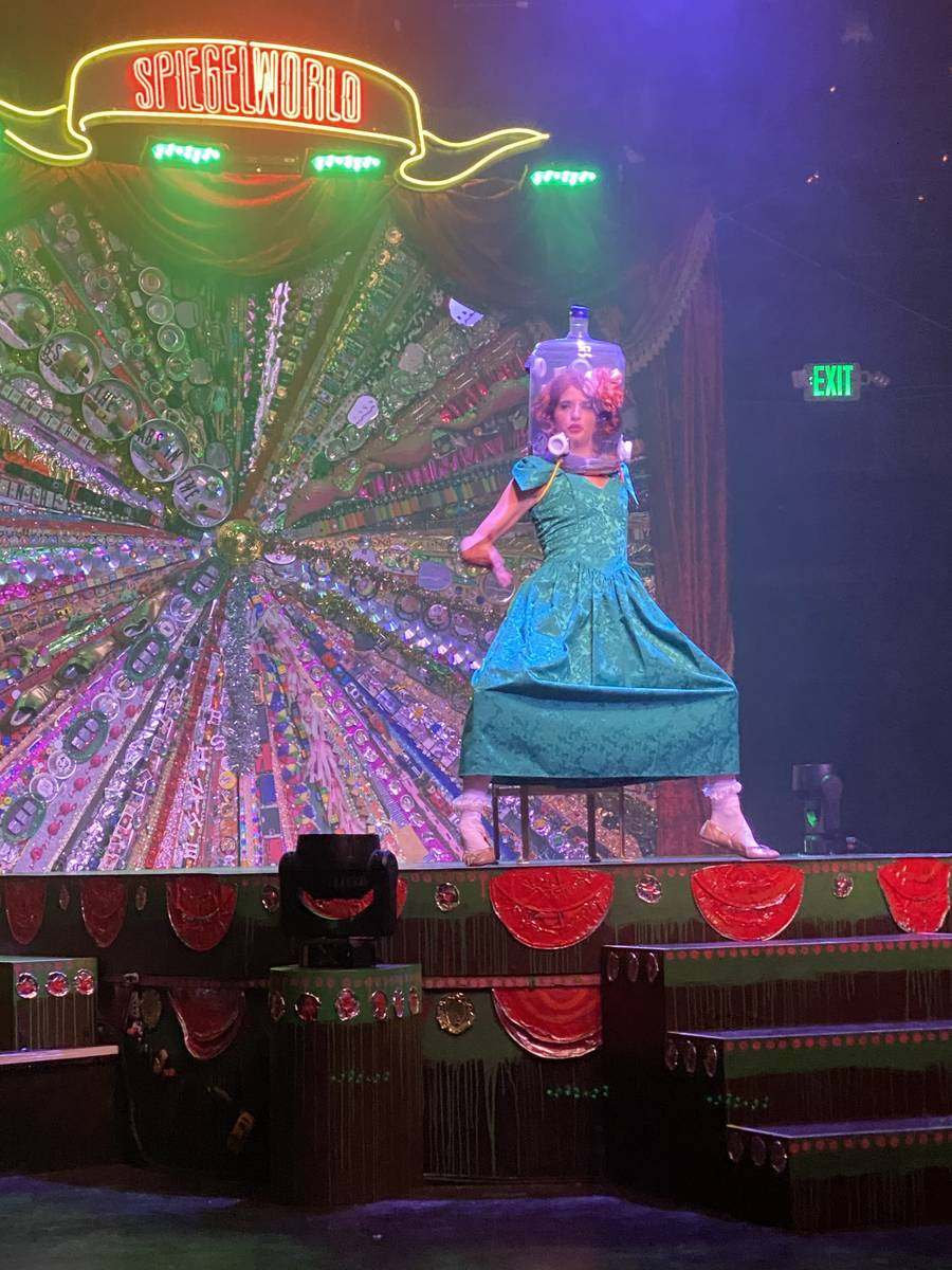 """Penny Pibbets is shown in the return of """"Absinthe"""" at Caesars Palace on Wednesday, Oct. 28,2020 ..."""
