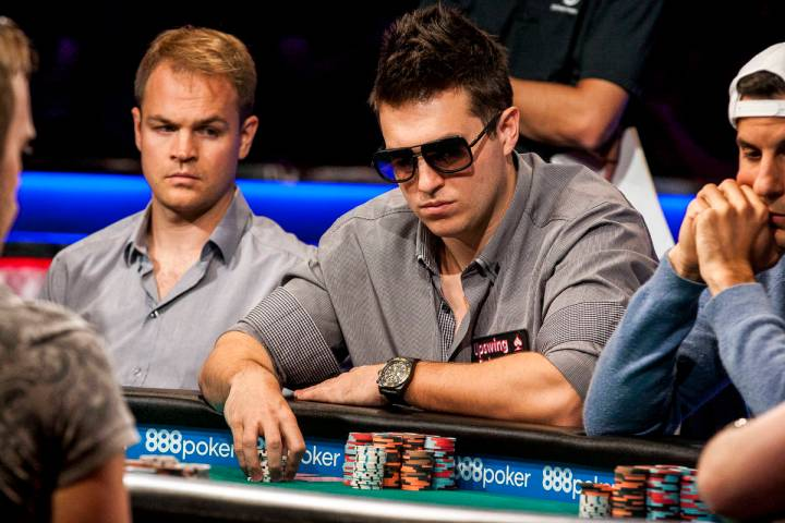 Doug Polk competes in the World Series of Pokerճ $111,111 buy-in High Roller for One Drop ...