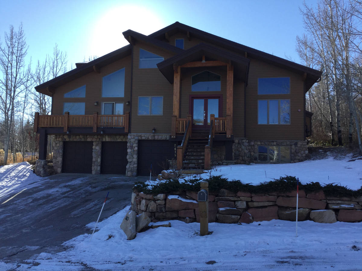 A home at 2615 Aspen Springs Drive in Park City, Utah, owned by the late Tony Hsieh, ex-chief e ...
