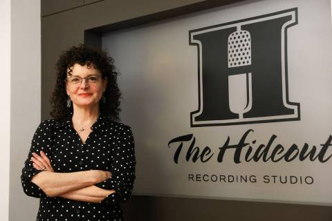 Zoe Thrall, now director of studio operations, at The Hideout recording studio in Henderson, Mo ...
