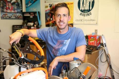 Las Vegas resident Matt Jaskol. (Las Vegas Review-Journal)