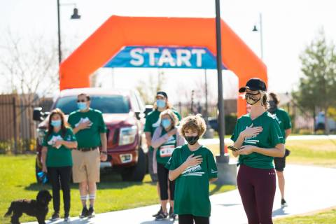Skye Canyon's Fit Fest 2021 raised more than $3,000 for the Kline Veterans Fund, a charitable ...