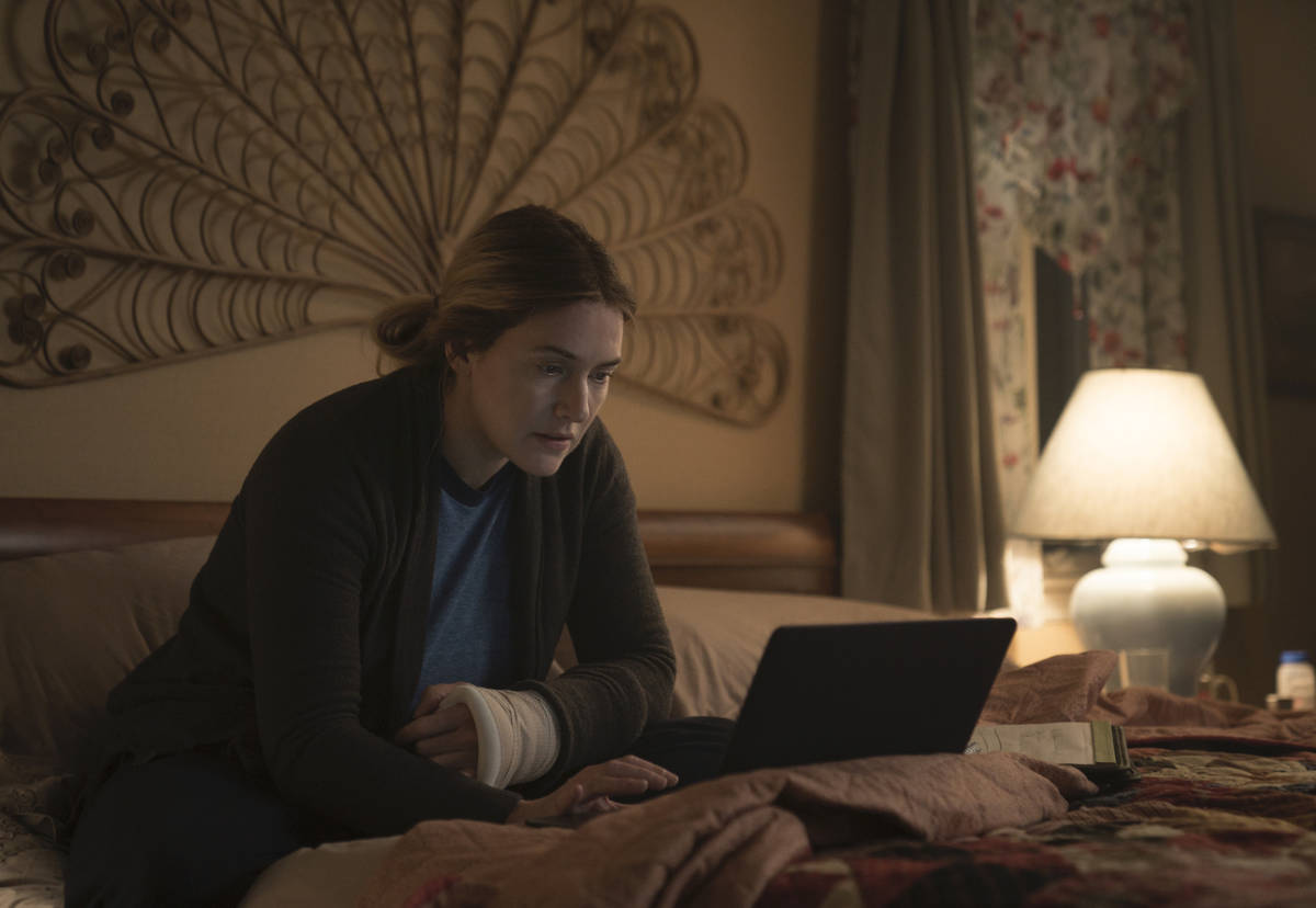 """Kate Winslet stars in HBO's """"Mare of Easttown."""" (Michele K. Short/HBO)"""