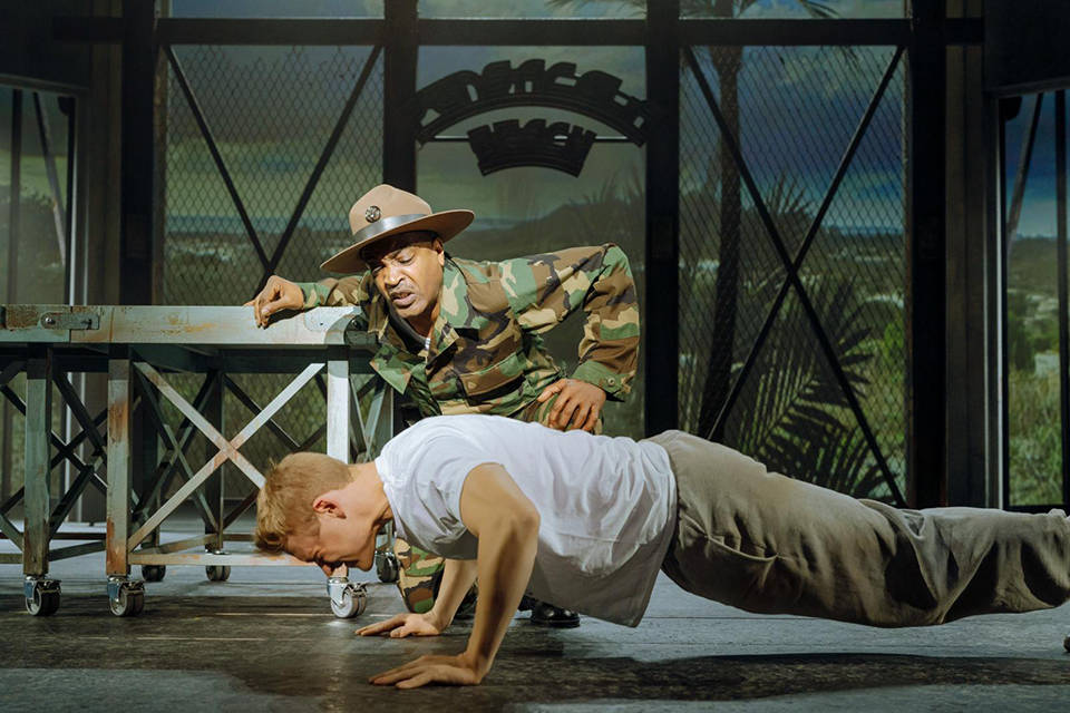 """""""An Officer and a Gentleman"""" marches into The Smith Center Oct. 26-31 as part of the Broadway L ..."""