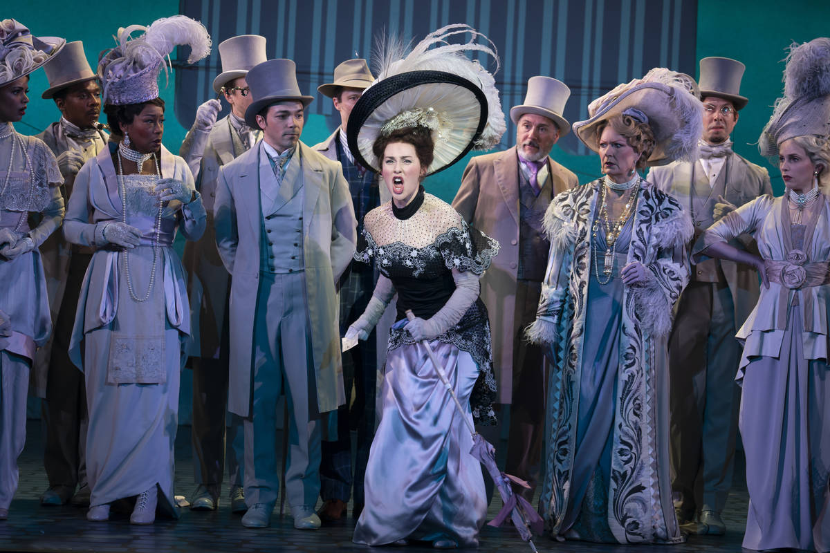 """""""My Fair Lady"""" is scheduled for Jan. 25-30, 2022, as part of The Smith Center's Broadway Las Ve ..."""
