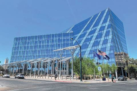 Las Vegas City Hall (Las Vegas Review-Journal)