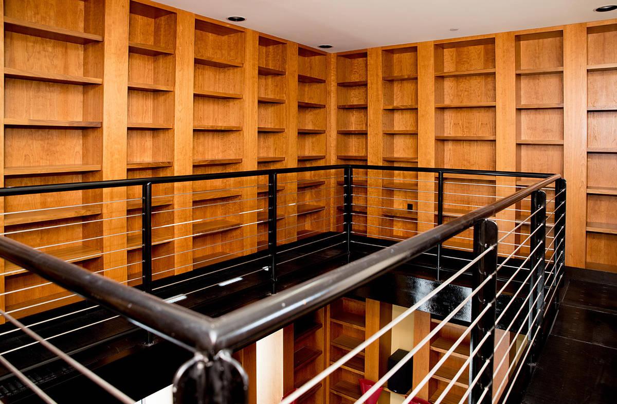 The library. (Tonya Harvey Real Estate Millions)