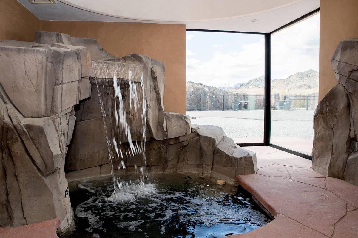 The master bedroom has a grotto. (Tonya Harvey Real Estate Millions)