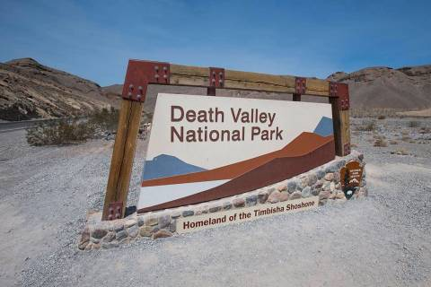 Death Valley National Park in California. (Las Vegas Review-Journal)