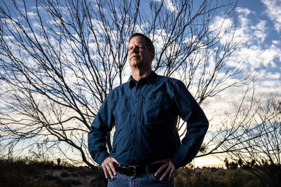 James Herndon, a retired peace officer who spent 21 years with the Nevada Department of Wildlif ...