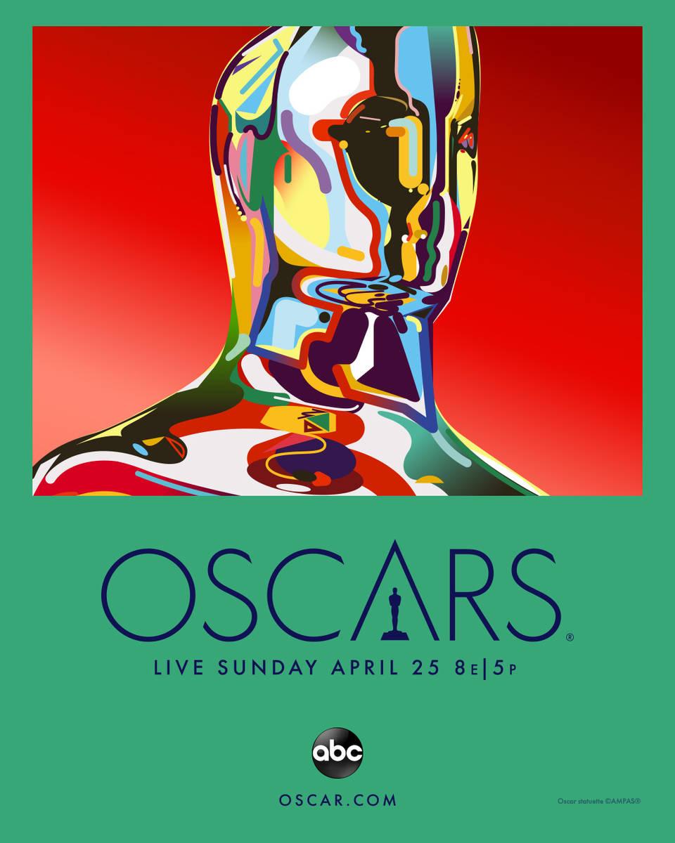 THE OSCARS - Key Art. (ABC) Artwork by Magnus Voll Mathiassen.