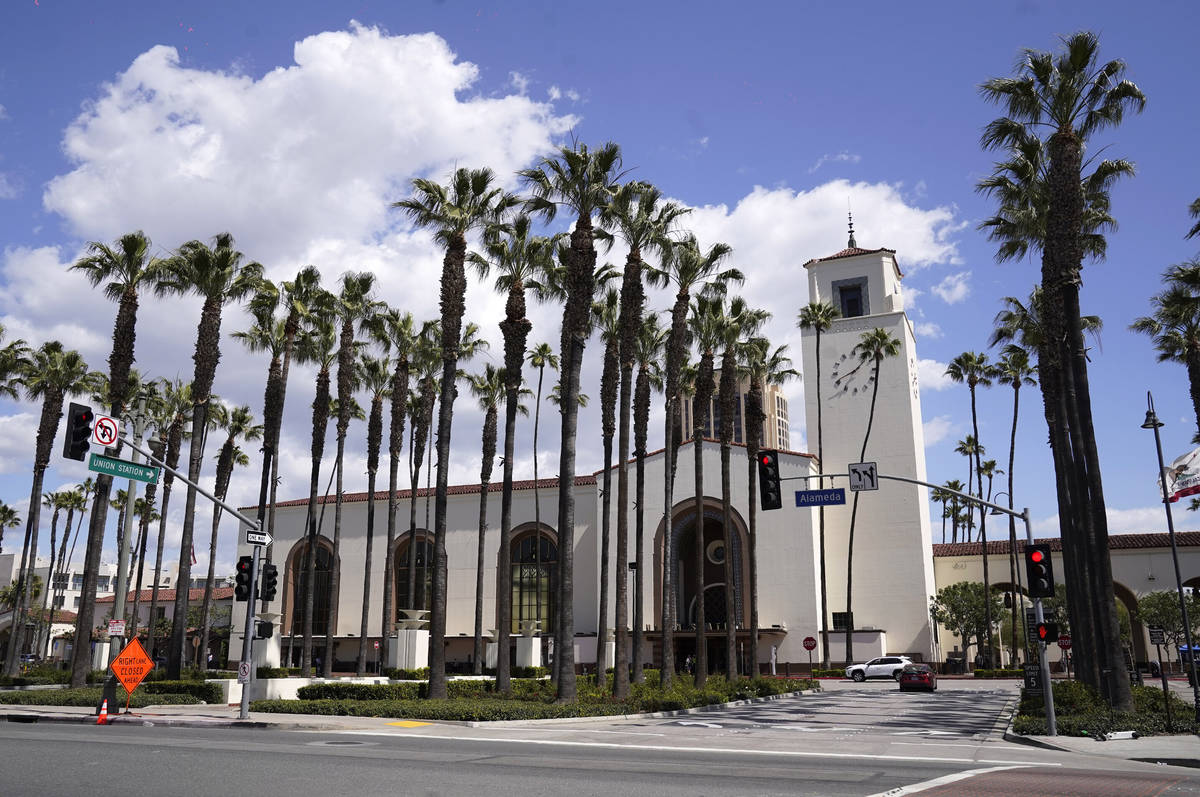 The Oscars will take place at Union Station in Los Angeles for the first time this year. (AP Ph ...