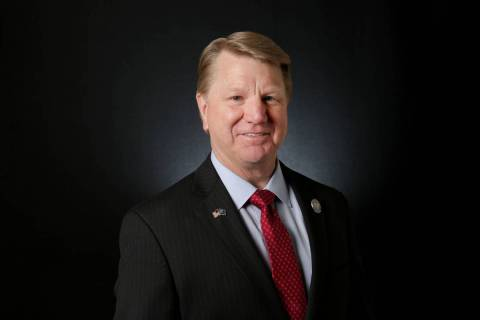 Former Nevada Assemblyman Jim Marchant will run for Secretary of State in 2022, he told the Rev ...
