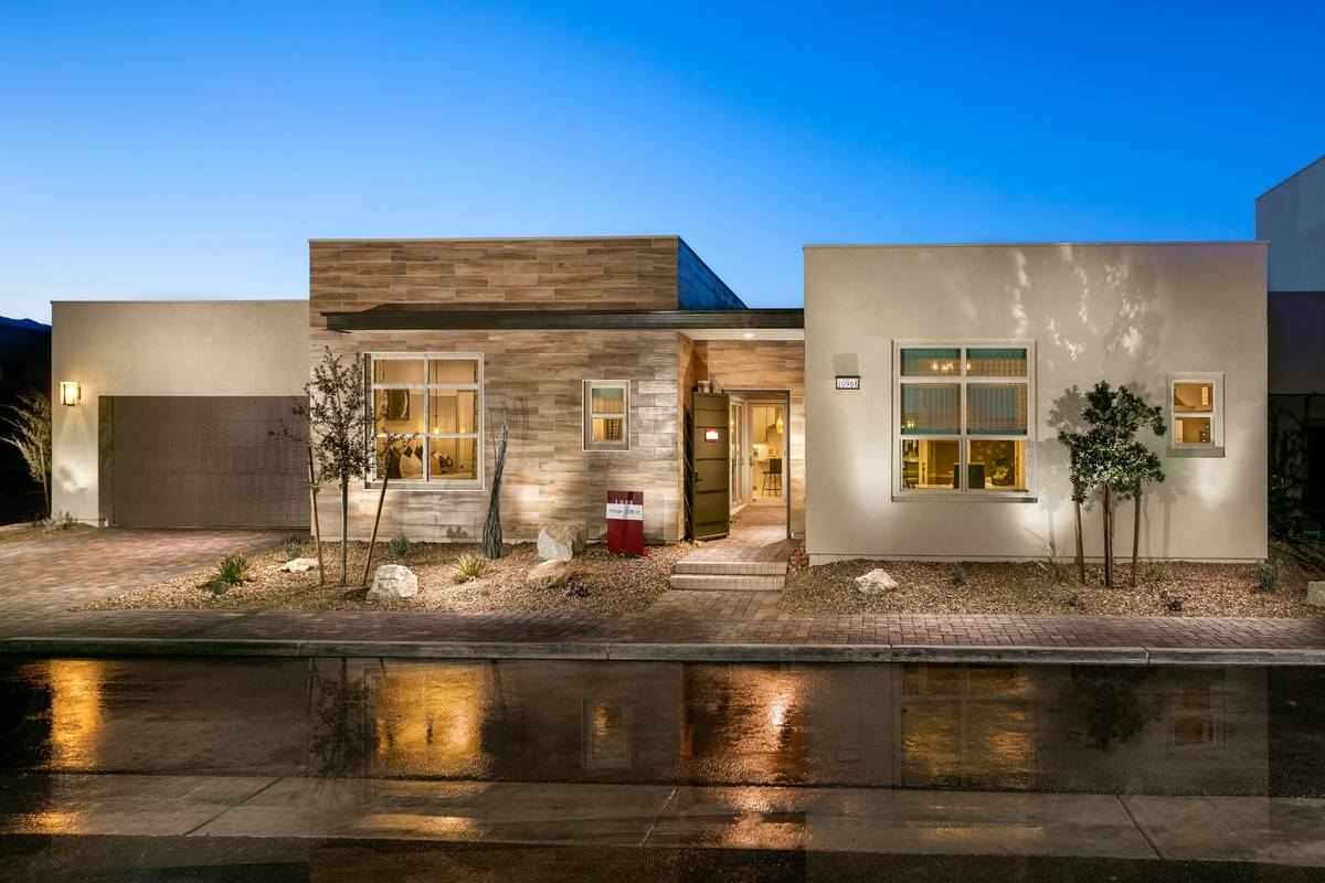 Trilogy in Summerlin has released a new phase of homesites. Some of these will face the Las Veg ...