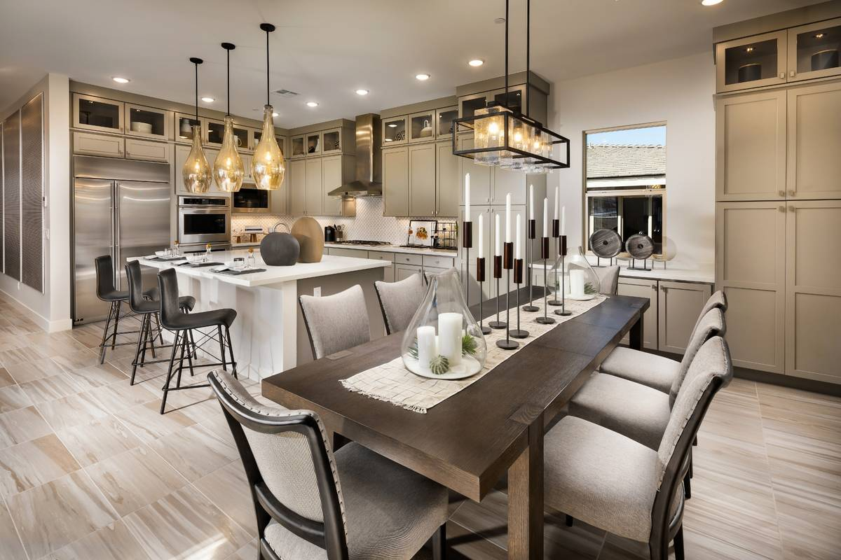 Trilogy in Summerlin showcases 13 single-level living town home floor plans ranging from 1,776 ...