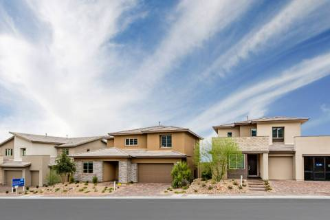 Graycliff in the village of Stonebridge at Summerlin is one of two neighborhoods offered by Len ...
